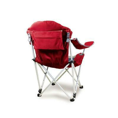 Picnic Reclining Chair Steel Padded Seat