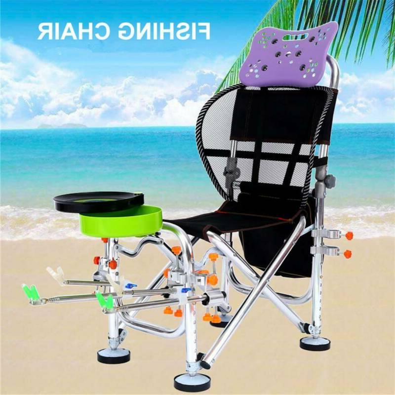 reclining fishing chair heavy duty outdoor camping
