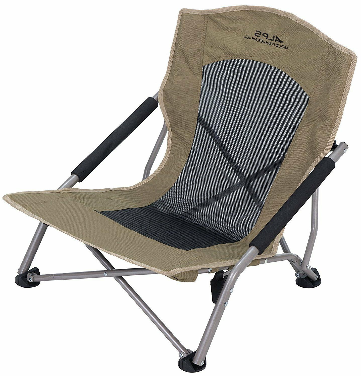 rendezvous folding chair camping outdoor sporting khaki