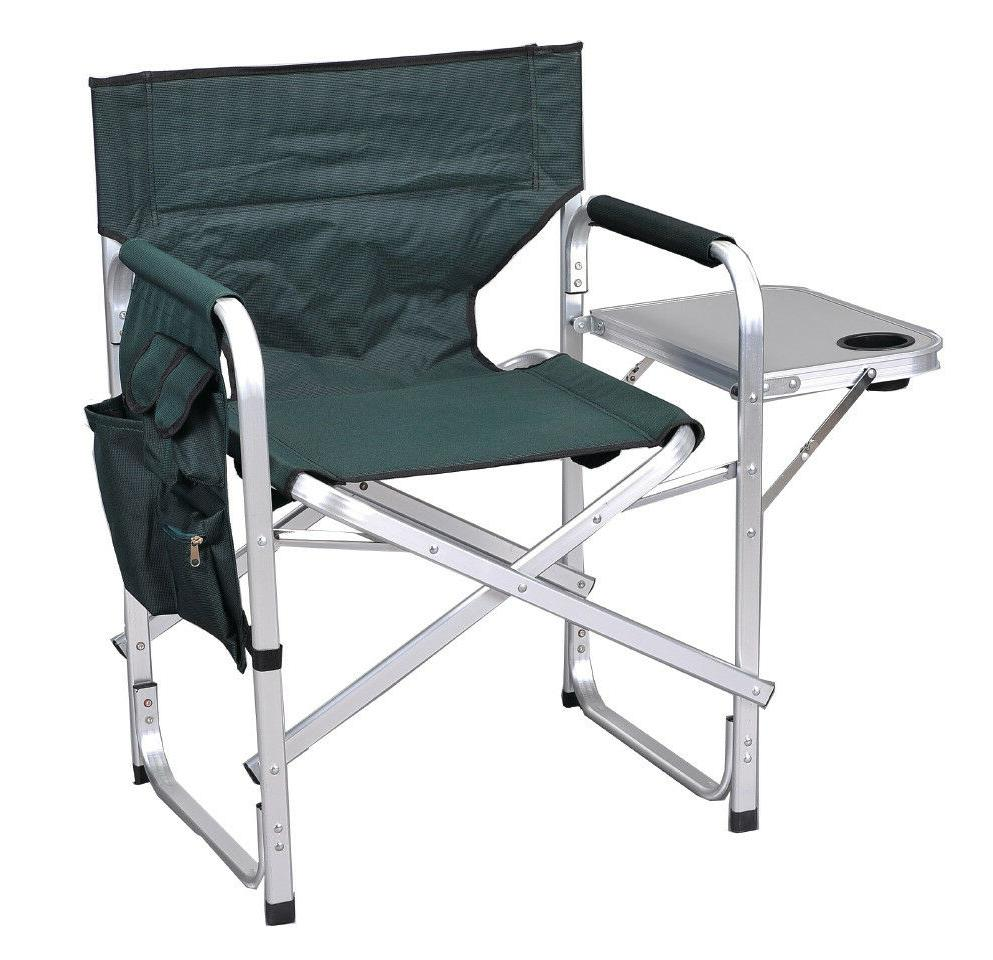 sl1204green back folding director chair