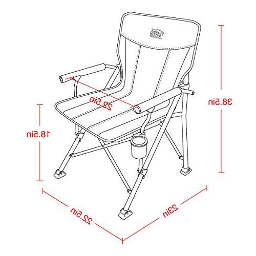 Timber Ergonomic 300lbs with Carry Folding Quad Heavy Duty, Padded Cup