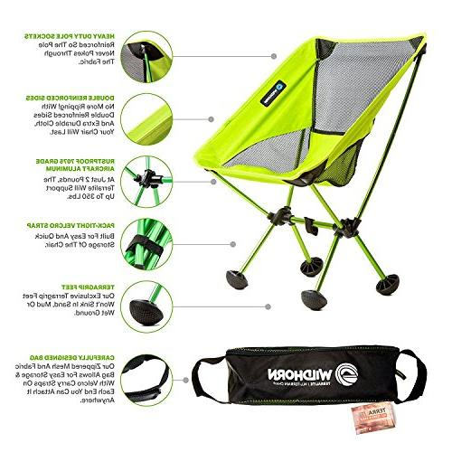 Terralite Perfect For Beach, Backpacking & Festivals. Compact & Heavy . TerraGrip Won't the Sand or