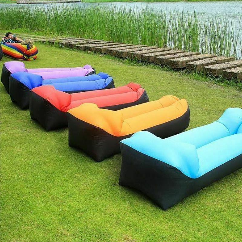trend outdoor products fast infaltable air sofa
