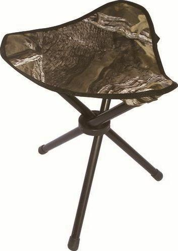 Tri-Leg Camo Hunting Camping Hiking Stool Folding 3 Leg Chai