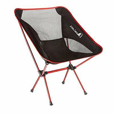 Moon Lence Ultralight Camping Chairs Folddable Backpacking B