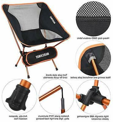 MARCHWAY Ultralight Chair, Compact for Outdoor Camp,