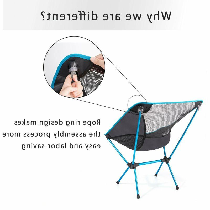 Moon Lence Ultralight Camping Chairs With