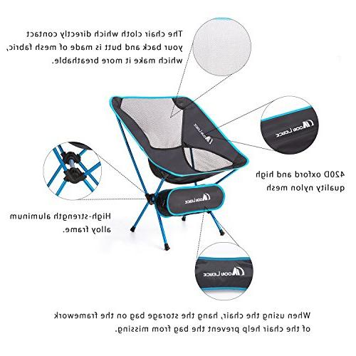 Moon Camping Chairs Beach with Bag
