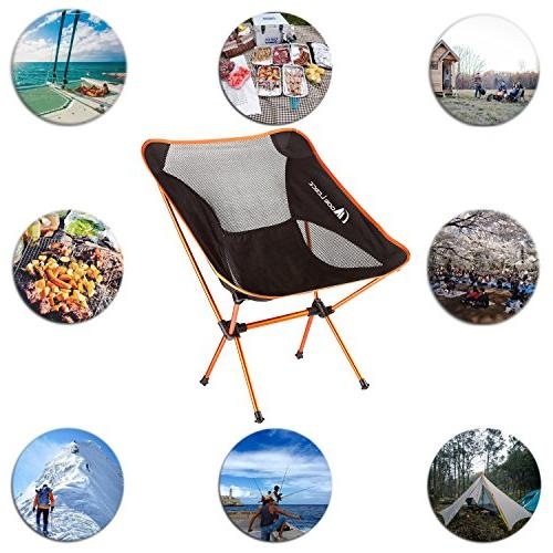MOON LENCE Ultralight Chairs Duty Camping Chairs Beach Chairs Carry
