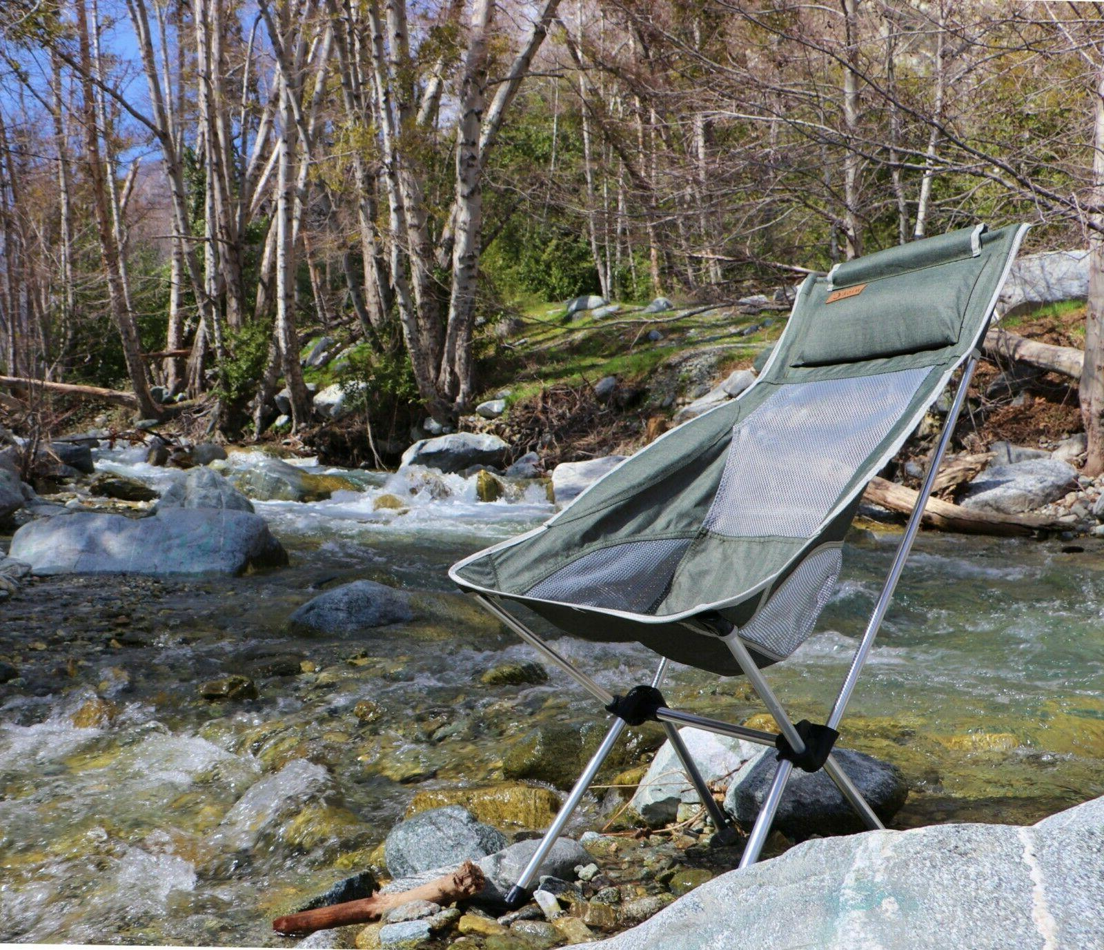 Ultralight High Camping Chair Outdoor