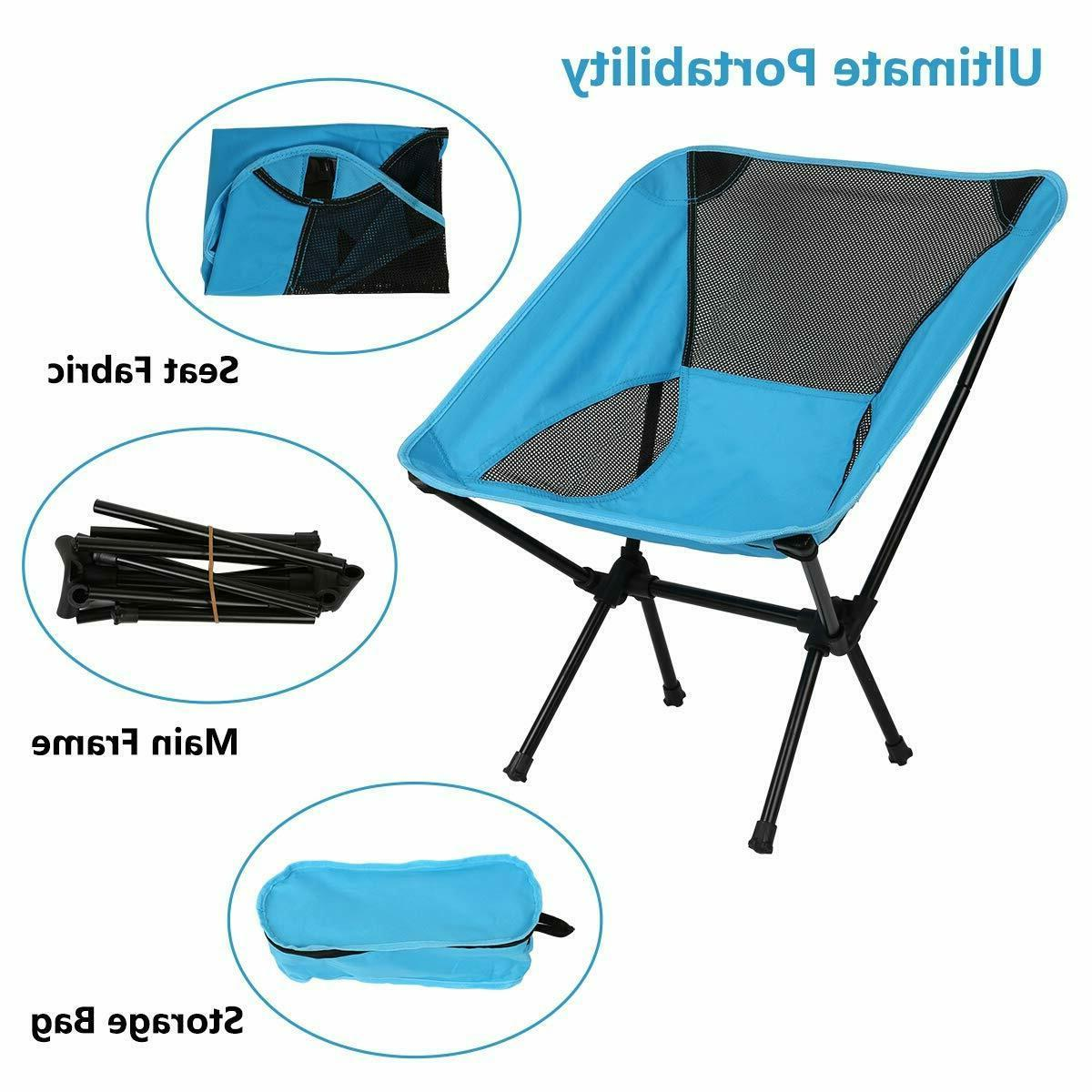 Ultralight Portable Backpack Camping Chair, Lightweight stool