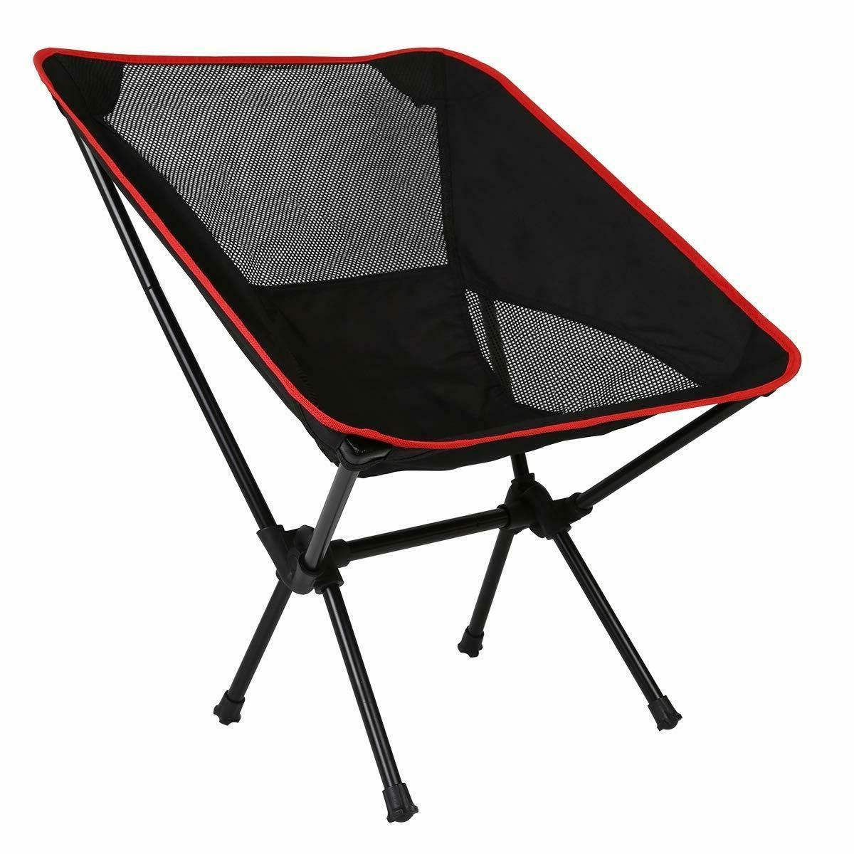 Ultralight Folding Backpack Camping Chair, Compact