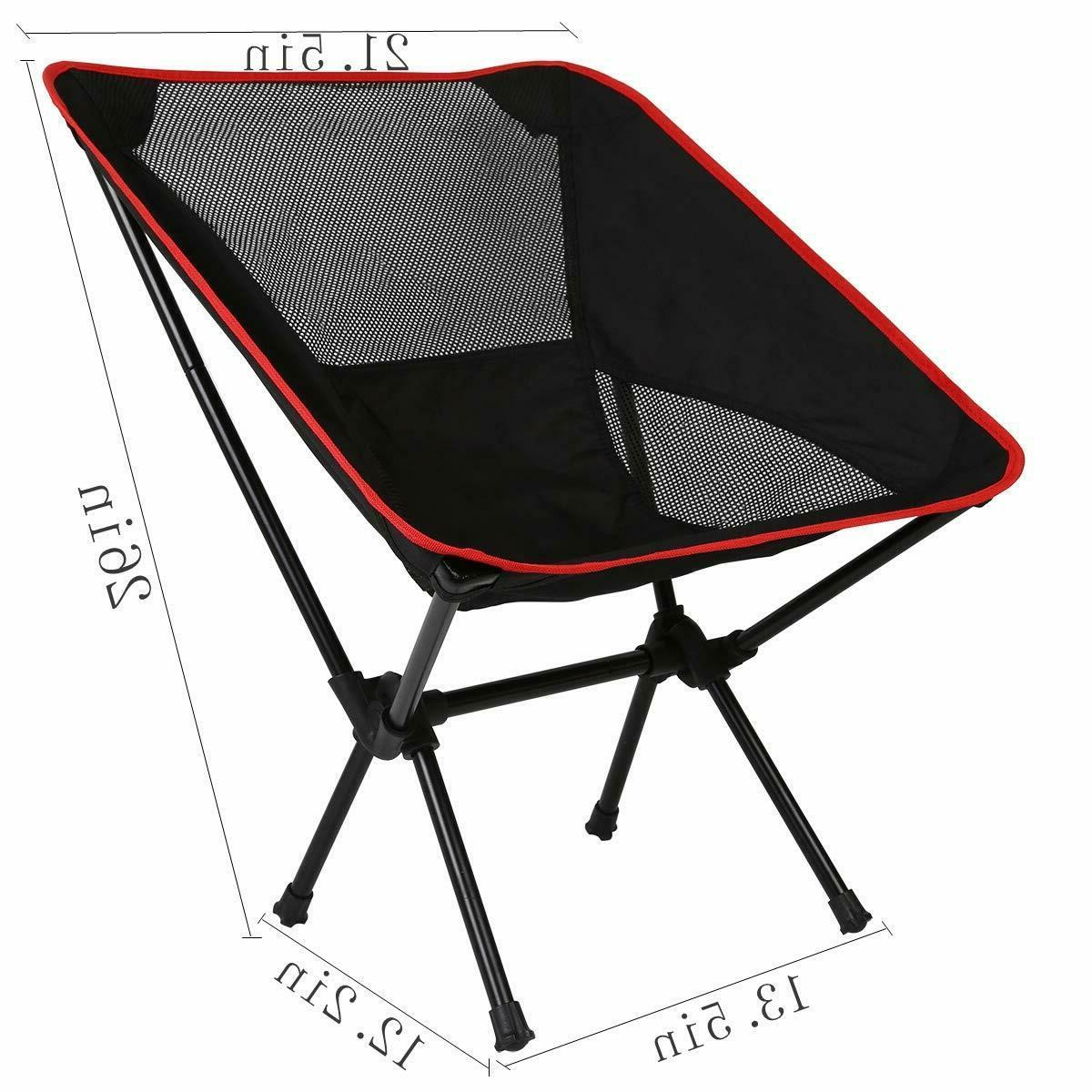 Ultralight Folding Camping Chair, Compact stool