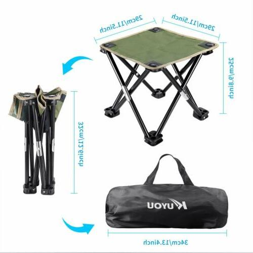 US Folding Chair Travel Fishing Stool Portable