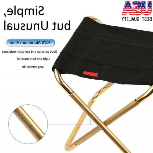 US Folding Travel Fishing Camping Stool Portable