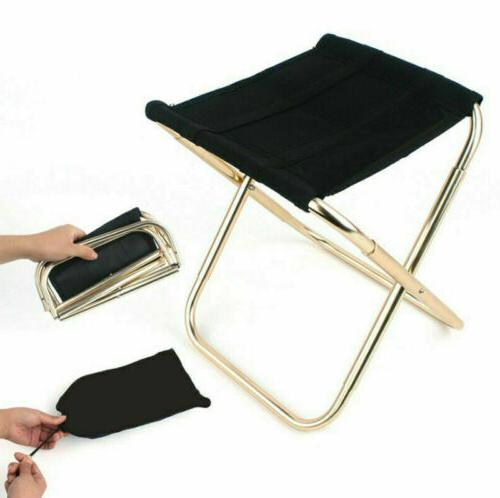US Folding Outdoor Travel Fishing Camping Stool Lightweight