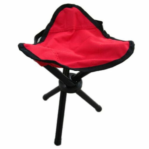 US Fishing Foldable Folding Stool Chair