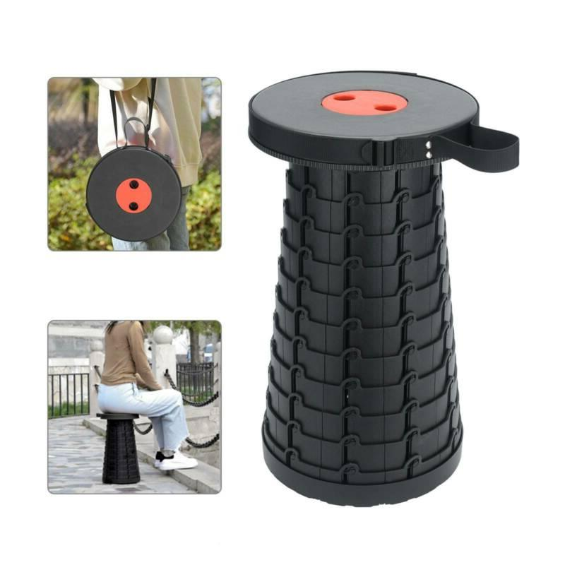 us portable chair telescopic folding stool collapsible