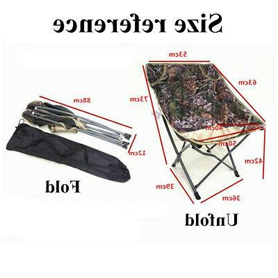 US Portable Chair Fishing Outdoor Ultralight Camping Seat
