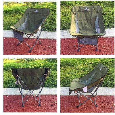 US Portable Folding Chair Fishing Outdoor Ultralight Camping