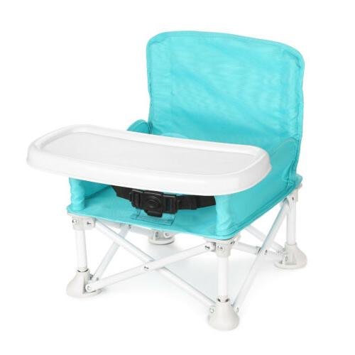 Baby Booster w/ Tray for High Chair for Camping