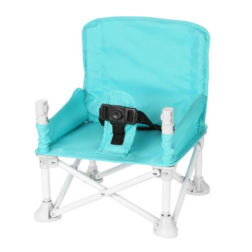 Baby Booster Seat w/ Tray Baby High Chair Eating Camping Beach