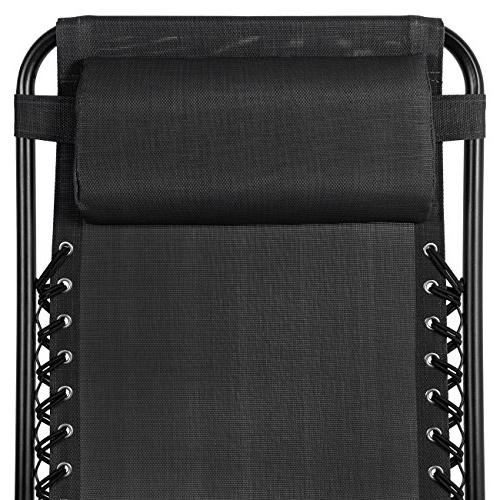 Best Products Set of 2 Gravity Lounge for Holder Trays, Black