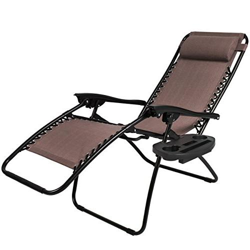Best Choice Products Set of Gravity Lounge Recliners for Holders -