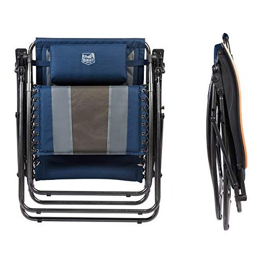 Timber Zero Patio XL Adjustable with Headrest Support 350lbs