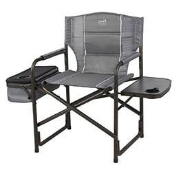 Timber Ridge Laurel Director's Chair, Grey