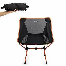 Sunyear Lightweight and Foldable Camp Chair Portable Breatha