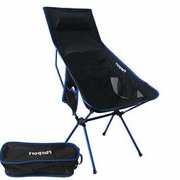 Fbsport Lightweight Folding Camping Backpack Chair, Compact