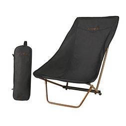 Kelty Linger Get Down Camp Chair, Heather Black