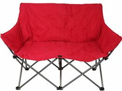Ozark Trail Loveseat Chair Camping Outdoor 2-Person Cushione