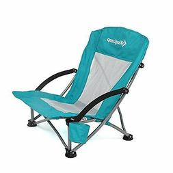 KingCamp Low Chairs Sling Beach Camping Folding With Mesh Ba