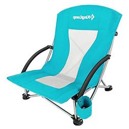 Low Sling Beach Camping Concert Folding Chair Low And High M