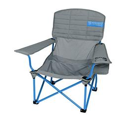 Kelty Lowdown Mesh Camp Chair, Smoke/Paradise Blue