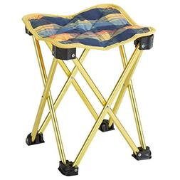 BUNDOK  Mini Aluminum stool plaid convergence equation compa