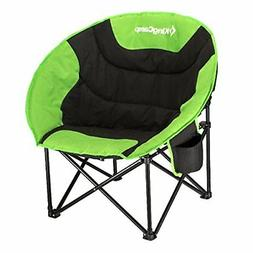 KingCamp Moon Saucer Camping Leisure Chair with Cup Holder S