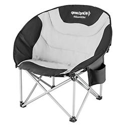 Moon Saucer Leisure Camping Chair Padded Seat Rugged Steel F