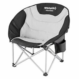 Moon Saucer Leisure Heavy Duty Steel Camping Chair Padded Se