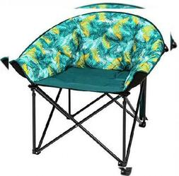 KingCamp Moon Saucer Leisure Heavy Duty Steel Camping Chair