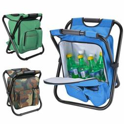 Multi-Function Backpack Foldable Folding Chair Camping Beach
