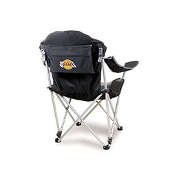 NBA Los Angeles Lakers Reclining Camp Chair, Black