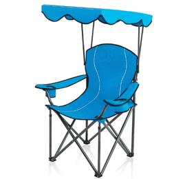 New Camp Chairs with Shade Canopy Folding Camping Recliner S