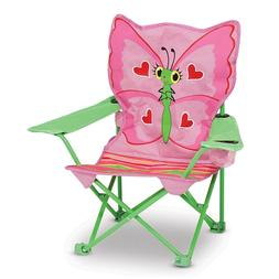 NEW Kids and Girls Butterfly Camping Beach Outdoor Chair