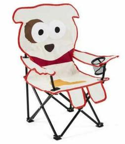 New kids cute puppy dog Camping Chair Holiday Camping Hiking
