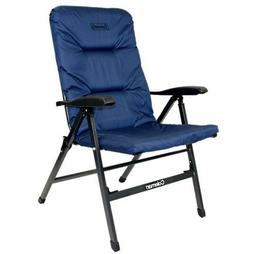 NEW COLEMAN PIONEER 8 POSITION FLAT FOLDING CHAIR CAMPING PA