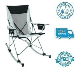 New Tension Camp Rocking Chair Outdoor Polyester Camping Roc