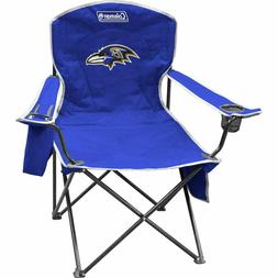nfl cooler quad folding tailgating camping chair